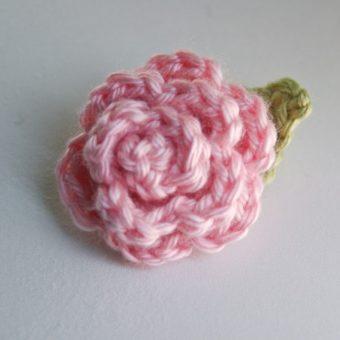 crochet rose pattern for beginners