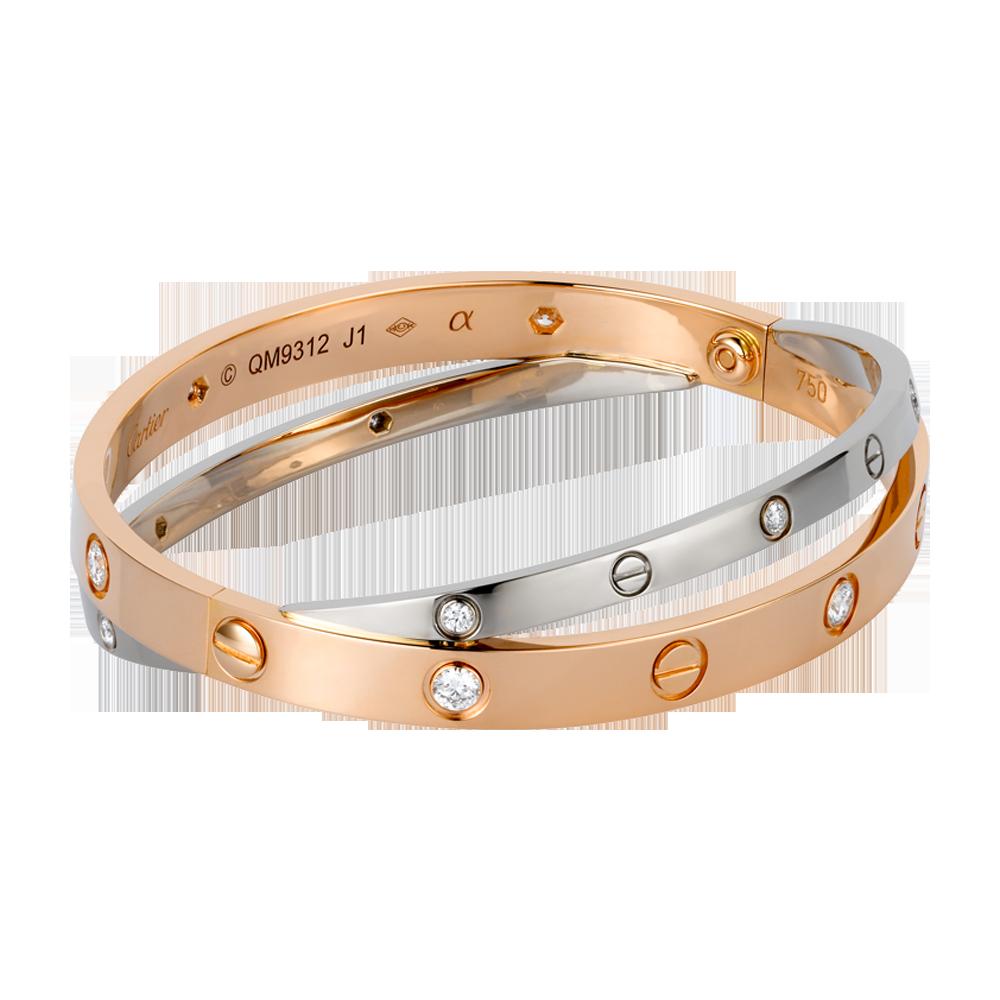 9 cartier love bracelet for lovelies patterns hub. Black Bedroom Furniture Sets. Home Design Ideas