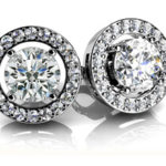 Diamond Stud Earrings for Women