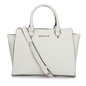 MK white huge bag