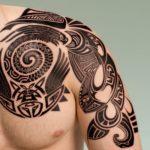 Shoulder Tattoos is an Art!