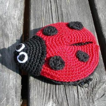 crochet ladybug backpack free pattern