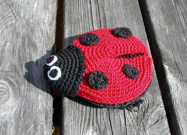 Crochet-Along Pattern: Lil' Ladybug | Crochet ladybug, Crochet ... | 453x628