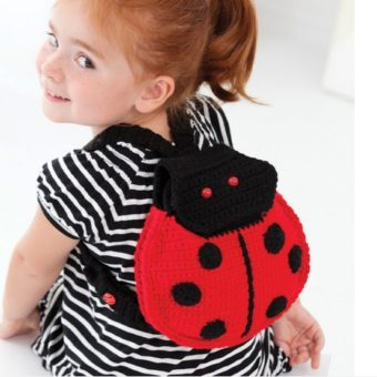 crochet ladybug backpack pattern