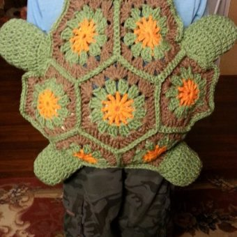 crochet turtle backpack pattern free