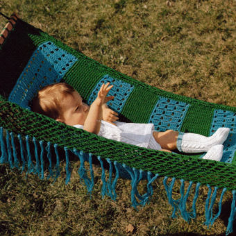 free crochet baby hammock patterns