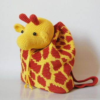 Crochet Giraffe Backpack Patterns