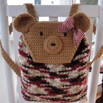 Crochet Teddy Bear Backpack Patterns