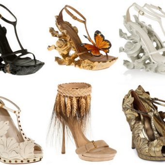 Alexander Mcqueen Designer Shoes and Dresses