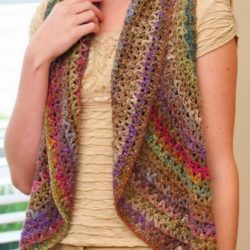 Women's Crochet Vest Pattern