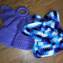 Crochet Angel Dishcloth Patterns