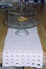 simplecrochet table runner patterns