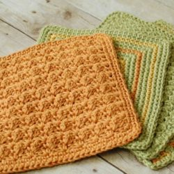 easy crochet dishcloth patterns for beginners