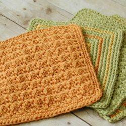 easycrochet dishcloth patternsfor beginners