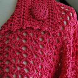 Crochet Drop Pattern Vest