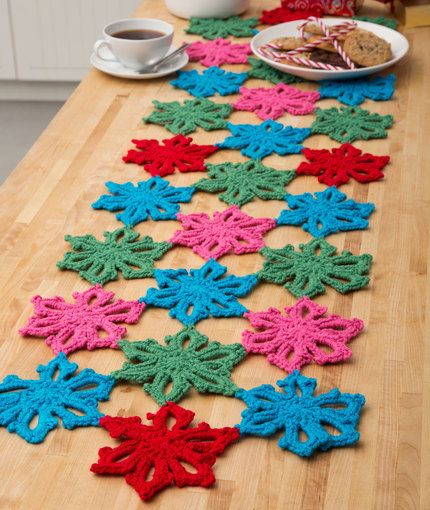 Just for You: 17 Crochet Table Runner Patterns for Beginners