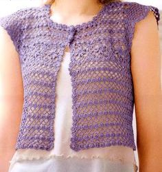 Crochet Lace Vest Pattern