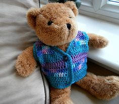 Crochet Vest Pattern for Teddy Bear
