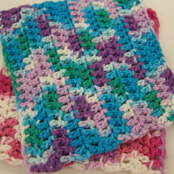 free double crochet dishcloth patterns