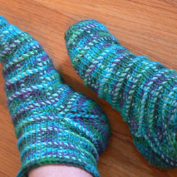 Easy Crochet Baby Socks Pattern