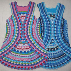 crochet vest shrug pattern
