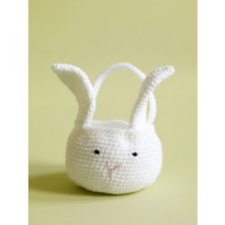 crochet easter basket patterns
