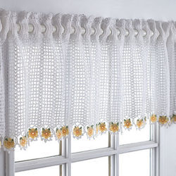 easy crochet patterns for curtains