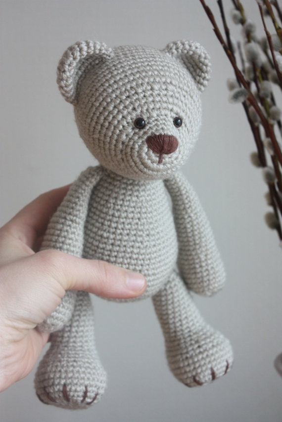 Free Amigurumi Teddy Bear Crochet Patterns – Amigurumi Crochet ... | 854x570