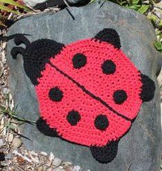 crochet round dishcloth patterns free
