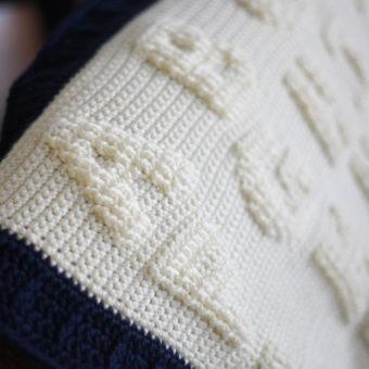 Crochet Alphabet Afghan Patterns