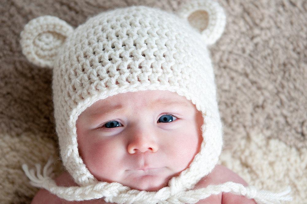 Ravelry: Teddy Bear Hat pattern by Carolina Guzman | 664x1000