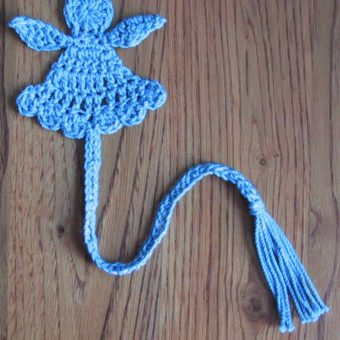 crochet angel bookmarks patterns