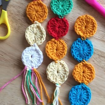 crochet bookmarks easy