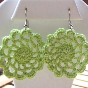 crochet doily earring patterns