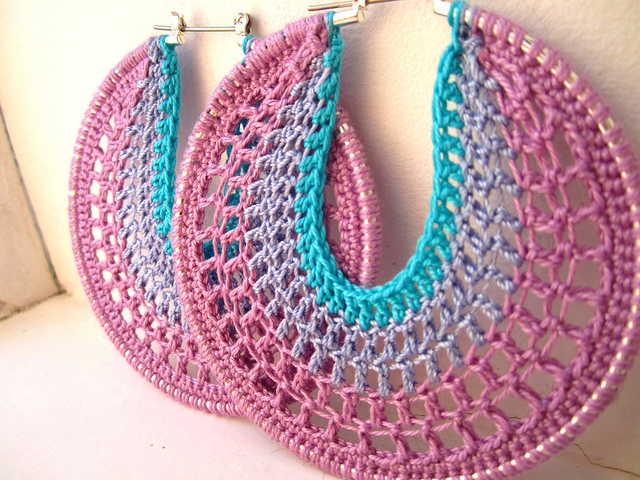 Crochet Earring Patterns In Hoop