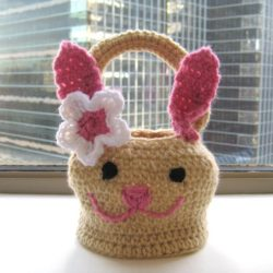 crochet easter basket patterns free