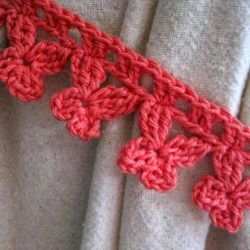 Crochet Edging Patterns for Curtains