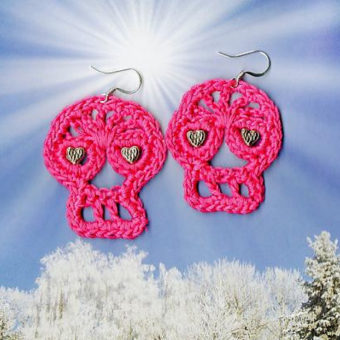 Crochet Halloween Earring Patterns