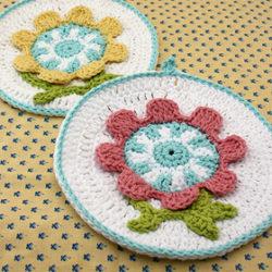 free holidaycrochet dishcloth patterns