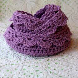 free crochet lace basket patterns