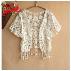 Crochet Lace Shrug Patterns