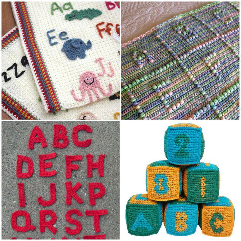 3D LETTER - crochet pattern, PDF, pattern for one letter (PDF in ... | 800x800