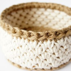 Crochet Nesting Basket Patterns