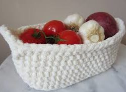 crochet basket patterns free