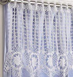 Papel Picado Lace Curtain