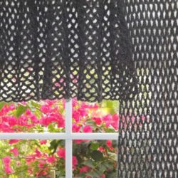 free crochet patterns for window curtains