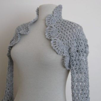 crochet bolero jacket patterns free
