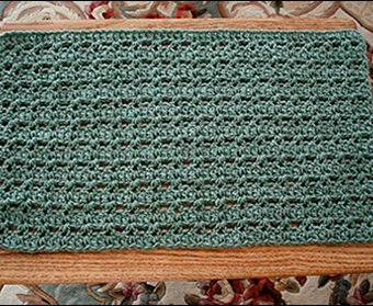 crochet placemat patterns beginners