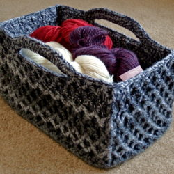 large crochet basket patterns