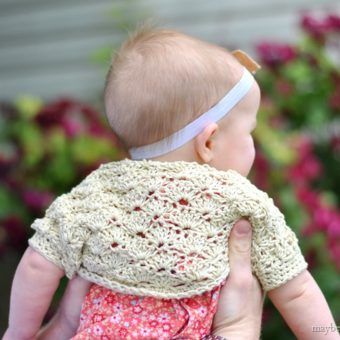 Crochet Shrug Baby Pattern